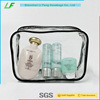 Plastic Clear PVC Zipper Packaging Bag