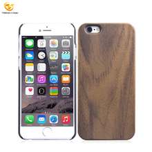 high quality pc+wooden phone cover for iphone 6, wood case for iphone 6
