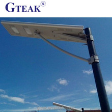 New style outdoor 100w all in one solar street light with pole