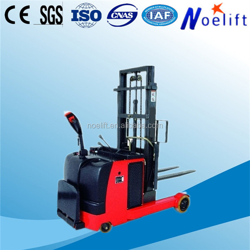 TFA series 1.5t Mast forward electric reach stacker for handling merchandise
