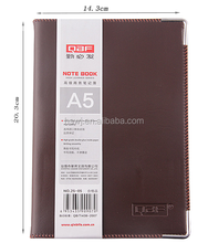 Good quality school diary /paper office notebooks with leather cover