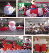 2014 High quality professional cheap outdoor christmas inflatables MK-33