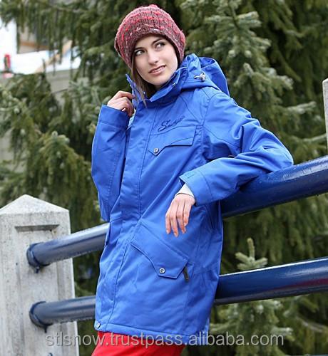 2014/2015 High quality waterproof 20000mm snowboard jacket, STL Beat Deepseablue