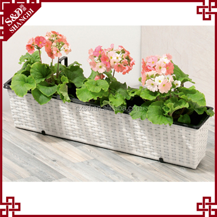 China wholesale home balcony decor white wicker long for Buy home decor online cheap