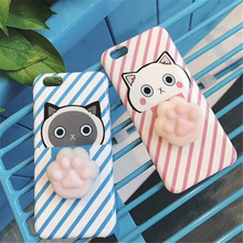 Cute Animal 3D Silicone Squishy Phone Cover Popular Promotion Gift Slow Rosing mobile Phone Case