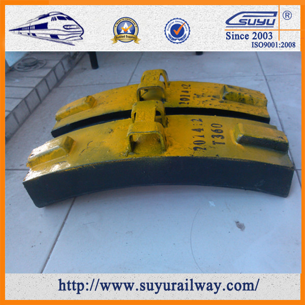 SUYU Best Selling Train Brake Shoe