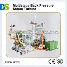 Multistage Back Pressure Mini Steam Turbine
