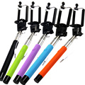 Extendable mobile phone flexible mini monopod selfie stick