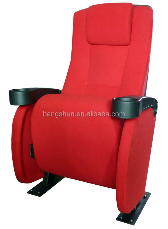 Theater cinema comermercial new furniture foldable auditorium seating chair (BS-831C)