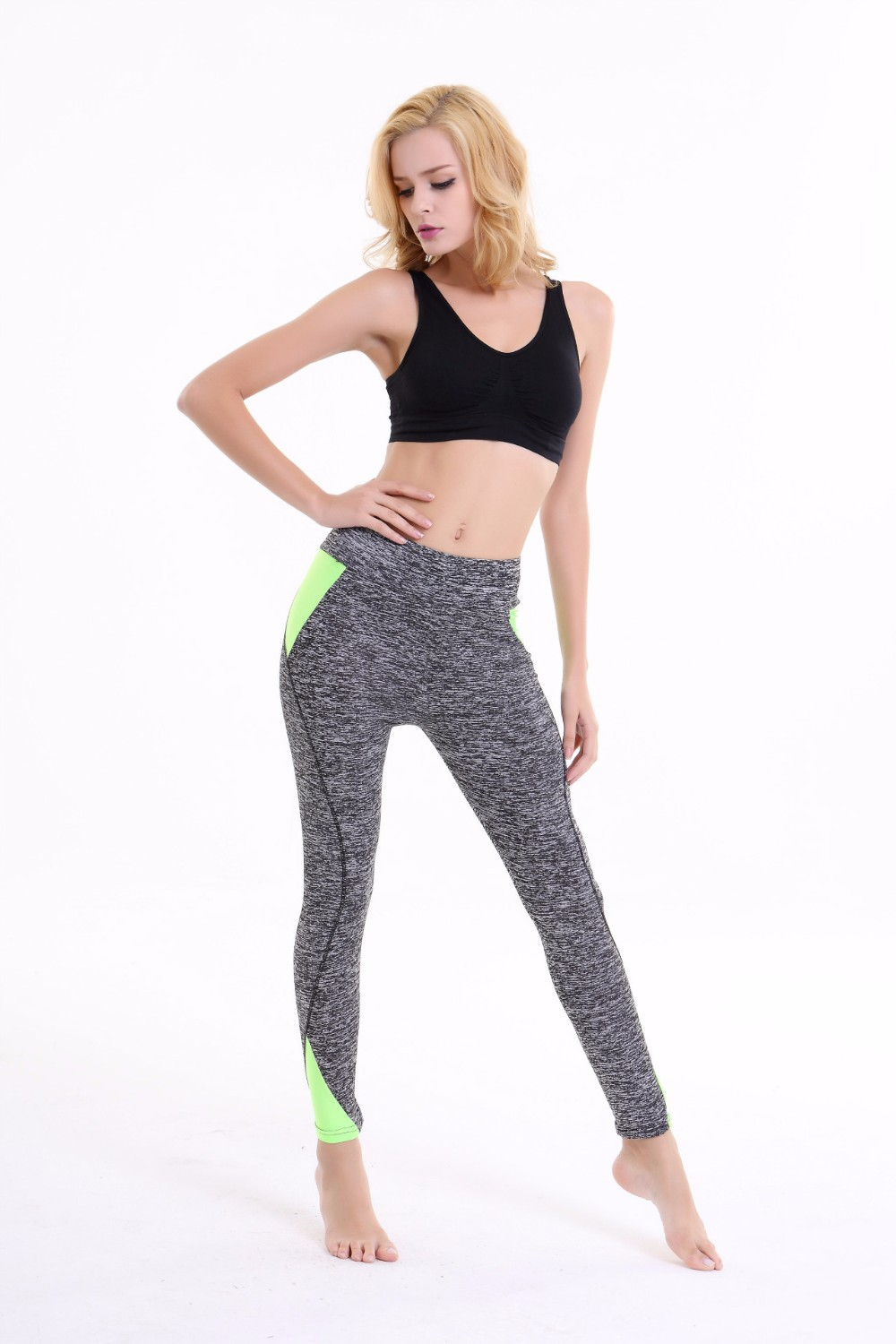 Alibaba Women's Long Fitness Yoga Legging Sports Pants Customize Logo