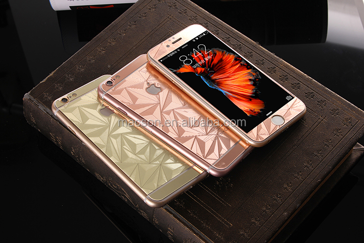 New Hot Sale 9H 3D Electroplate curved Anti Shock Full screen mobile tempere screen protector For Iphone 7 /7 puls 6 / 6s plus