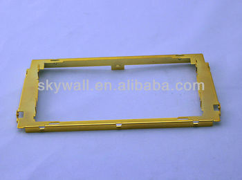 Customized high quality sheet metal panel with anodizing