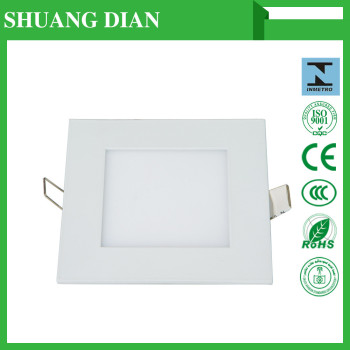 2016 newest surface mounted led panel round 6w/9w/12w/18w/24w,led panel light square pure white with 2 years warraty