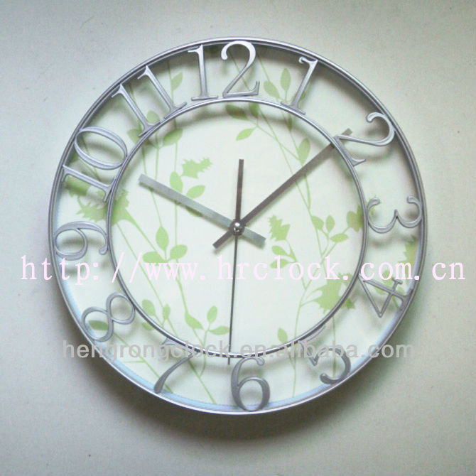 Decorative wall clock simple wal l clock modern design promotion clock