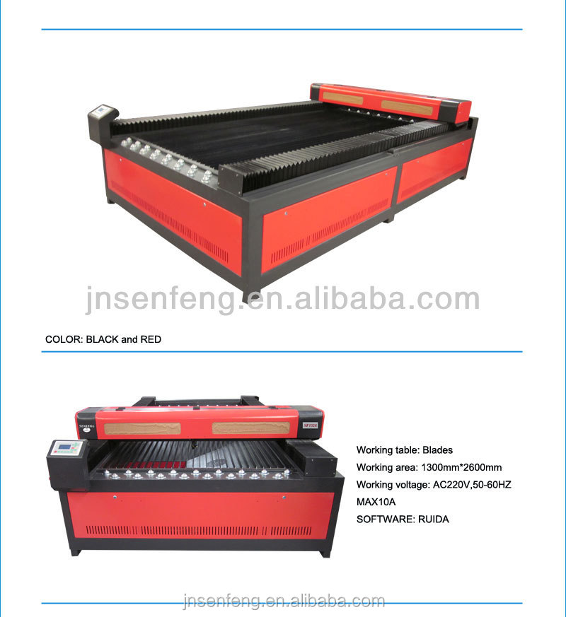 SF1610 Laser Cutting Machine with Best Price for Buyers