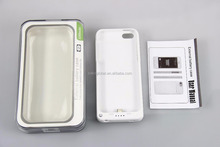 Best Selling 2200Mah Portable Cover Charger Case extended battery case