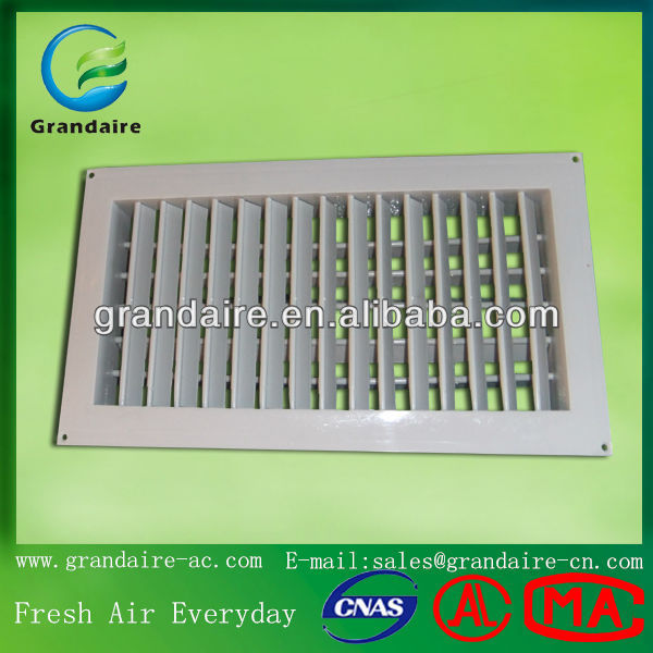 Hvac Plastic Supply Air Grilles and Diffusers