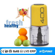kitchen use high quality mini food processor/High Quality Powerful Stainless Steel Blade Electric Food Chopper
