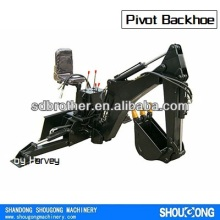 Skid Steer Loader Bobcat attachment Skidhoe, Backhoe