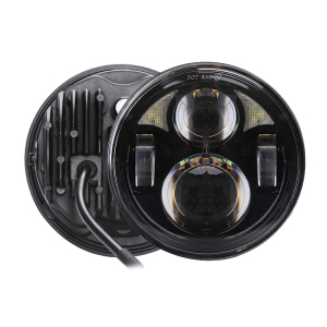 Round 5-3/4 led headlight for motorcycle 40w hi/lo beam head lamp