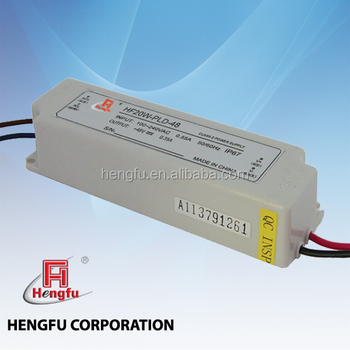 HF20W Waterproof LED Driver Power Supply constant current with Single Output