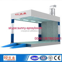 CE approved car polish prep station spray booth for grinding