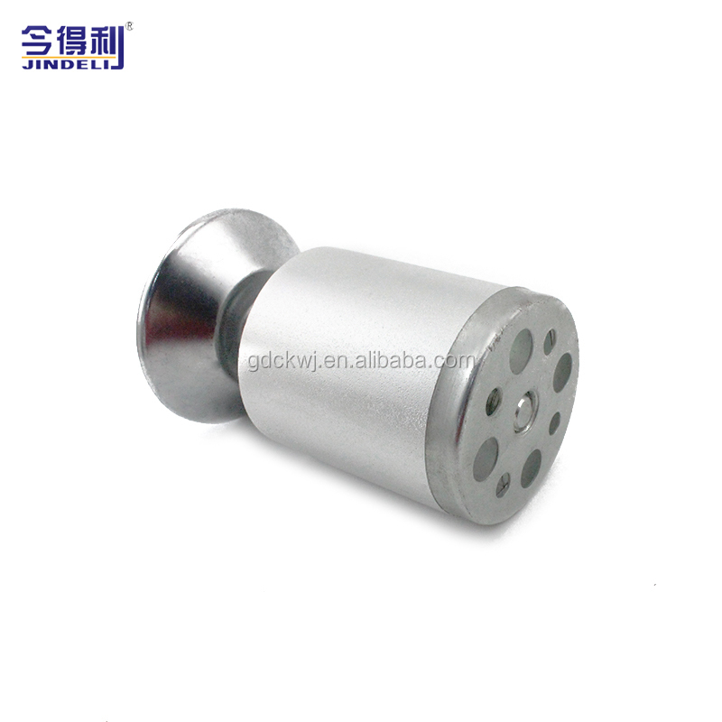 D-142 Furniture Feet Metal Fixed Sofa Feet Stainless Steel Office Furniture Feet