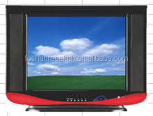 14 inch CRT TV SKD/TV cabinet/ best price for color TV/ in India/ 14T5