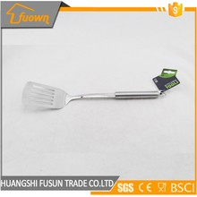 Factory Supply Kitchen Utensil Stainless Steel Turner Slotted Spatula