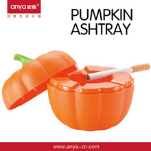 D441 Pumpkin -Shaped Cigar Melamine Ashtray Promotion Gift With Lid