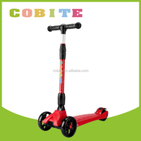 high quality folding scooter with three wheel