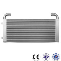 China supplier aluminum plate water cooling radiator