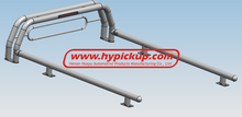 "3"" Steel Roll Bar with light for Toyota Tundra 2006"
