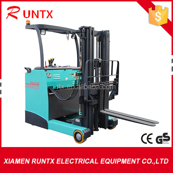 High quality 2 ton hand manual full electric reach stacker
