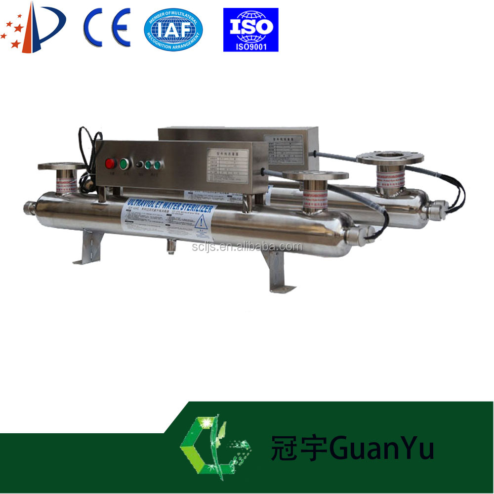 Electronic uv water filter water processor water treatment