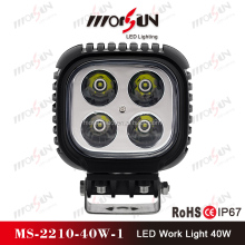 Morsun 4*4 car 12v 24v 40w led pod, offroad 40w led led pod headlight car led pod, super bright 40w led driving pod