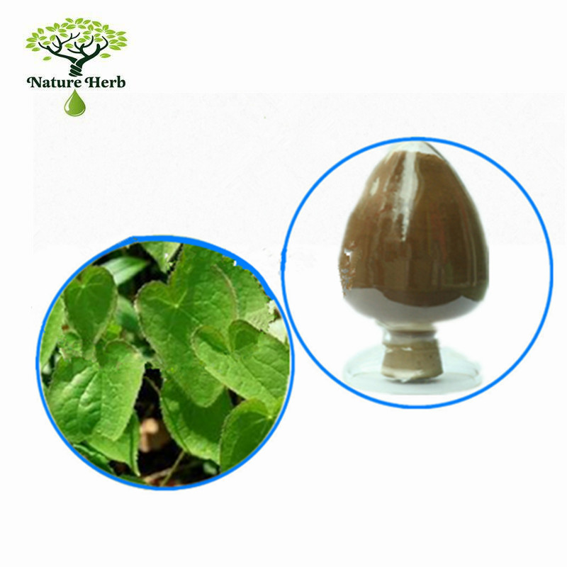Supply Natural Plant epimedium extract powder epimedium extract 10% Icariin/icariin 20% 40% 60% 80% 98%