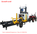 Sawmill-world Portable Sawmill Hydraulic Log Cutting Band Saw