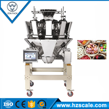 Electronic combination multihead weigher