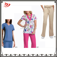 Stylish fabric for scrubs fashionable nurse uniform designs