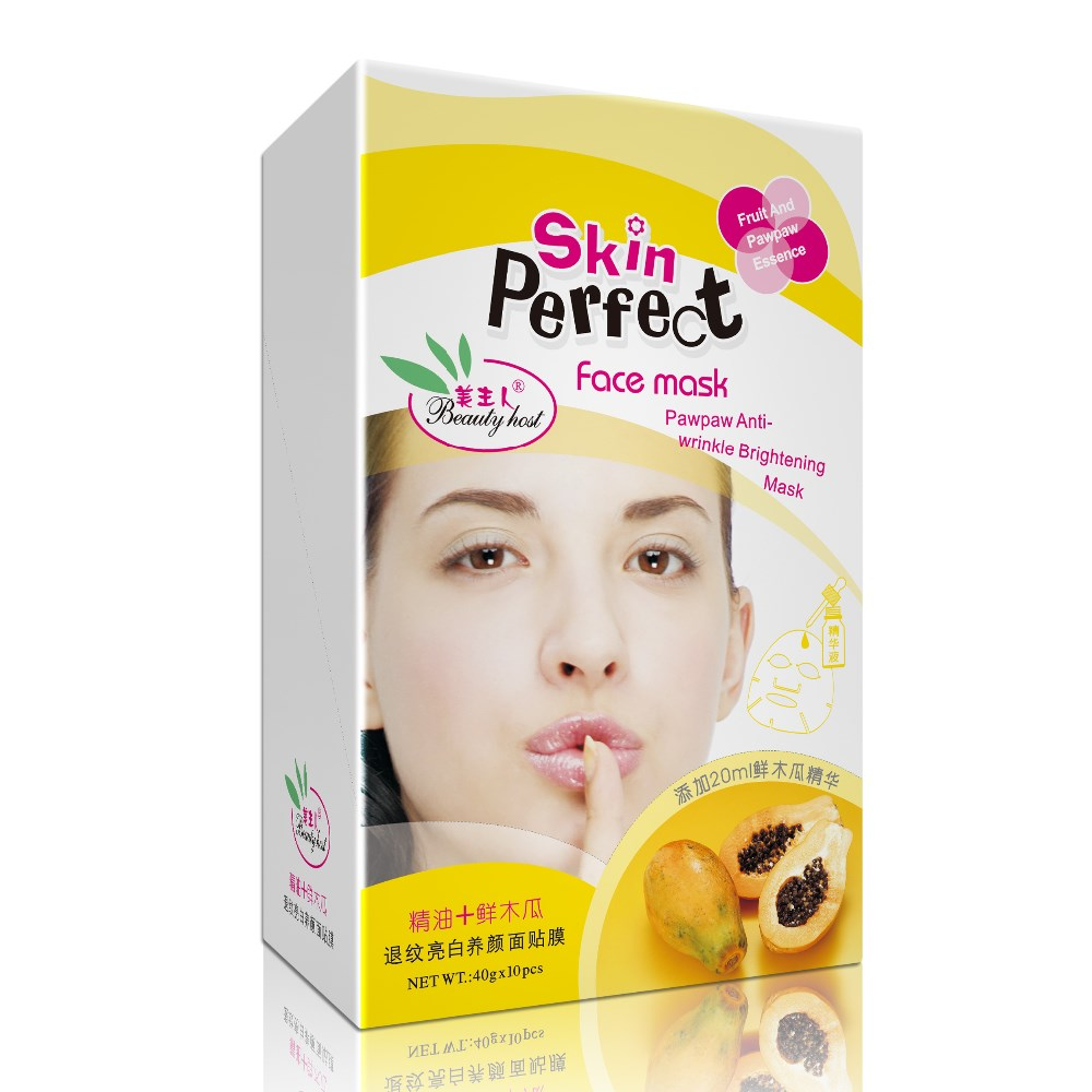 wholesale beauty supply Vitamin C Whitening Fruit Facial Mask