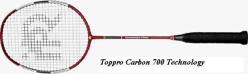 Toppro Carbon 700 Technology Badminton Racket