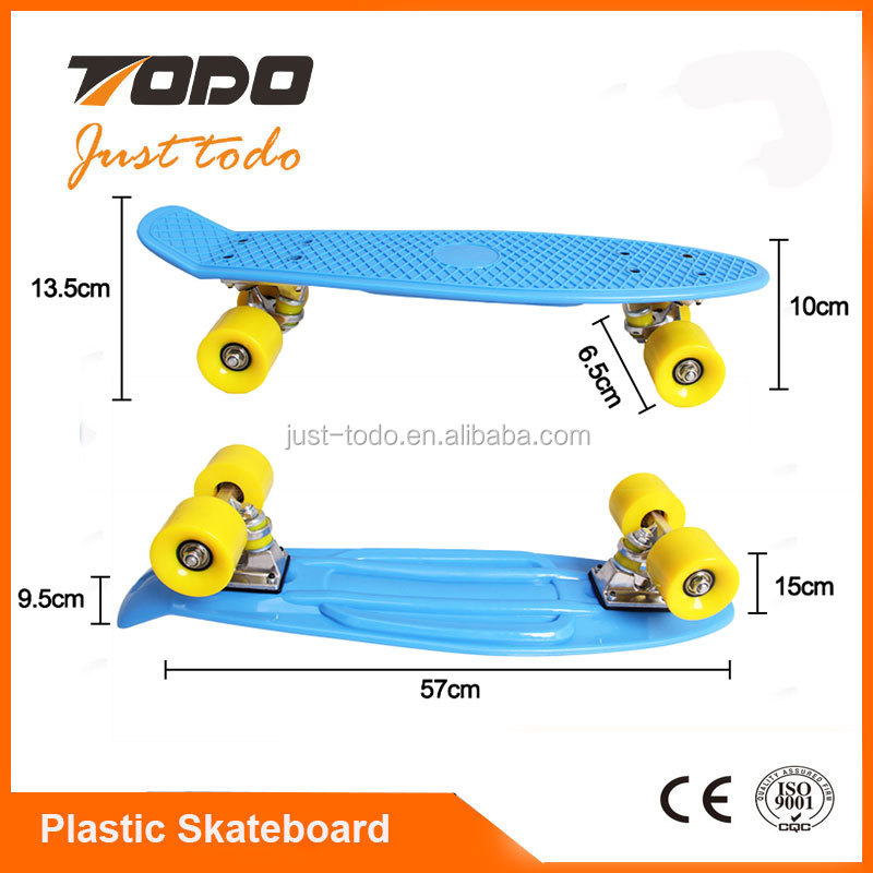 TODO mini fish skateboard longboard carver skateboard