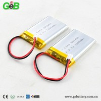 3.7v rc helicopter battery 1000mah 583450