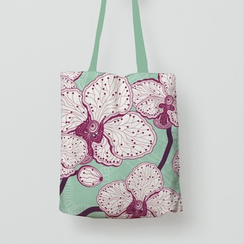 Popular Wholesale 100% Organic print cotton bag For Shopping