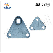Electrical Power Fitting link plate Strain Triangle Yoke Plate