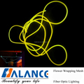 fiber optic side glow cable lighting with 150W illuminators for your home pool lighting