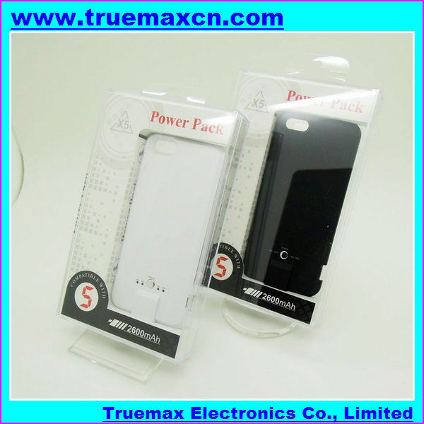 For iPhone 5 Power Pack (1800mA)