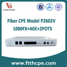 best quality 1000FX+4GE+2POTS+CATV CPE P2P VoIP products