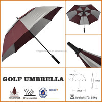 sun shelter windproof big design golf umbrella
